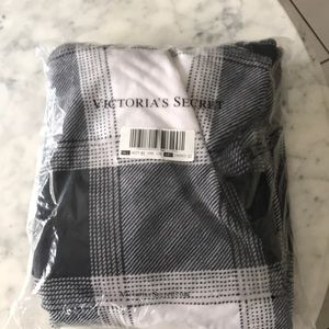 Victoria Secret plaid blanket